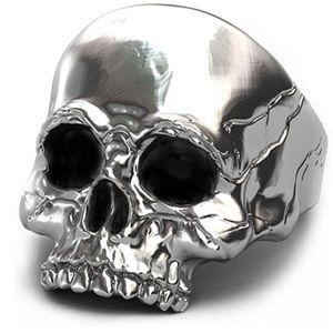 Other - Skull Rings for Men Big Biker Rock Mens Motorcycle